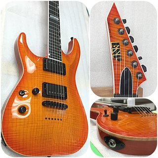 ESP USA HORIZON-II EMG AMBER CHERRY SUNBURST