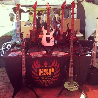 ESP at Ozzfest Meets Knotfest