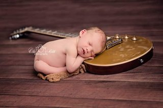 My boy and my guitar
