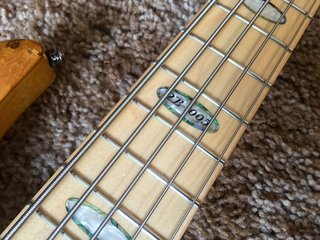 Bass Model in Mother of Pearl and Abalone