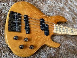 Burled Maple Bass Guitar Top