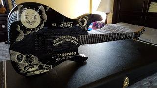 2009 ESP KH-2 Ouija Black #44