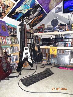 guitars at the studio