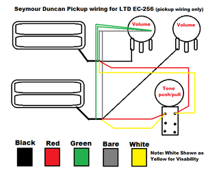 Wiring Diagram ec-256 - The ESP Guitar CompanyESP Guitars
