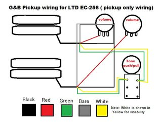 esp wiring diagrams esp image wiring diagram wiring diagram ec 256 the esp guitar company on esp wiring diagrams