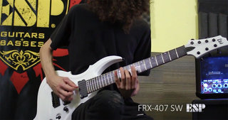 LTD FRX-407 Demo with Jack Fliegler