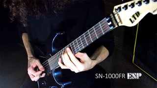 LTD SN-1000FR Demo by Jack Fliegler