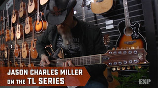 Jason Charles Miller on the LTD TL Series