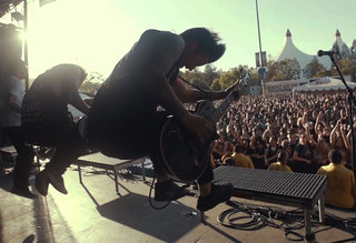 Throwback: ESP E-II at Warped Tour 2015