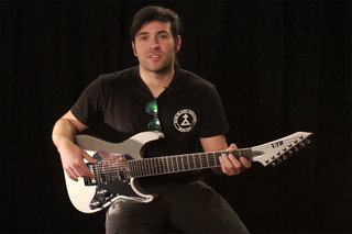 Ken Susi (Unearth) on his LTD KS M-7 EverTune