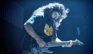 Stephen Carpenter on his signature Fishman Fluence Pickups