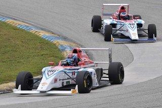 Miller Vinatieri Leguizamon Motorsports Rookies Show Promising Start in Season-Opener