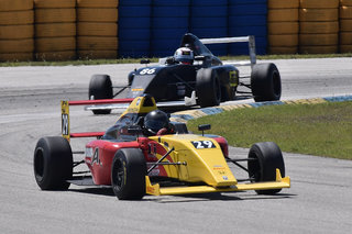 Group-A Racing's Jonathan Scarallo Captures Fourth Place Finish After an Exciting Race 3 Run