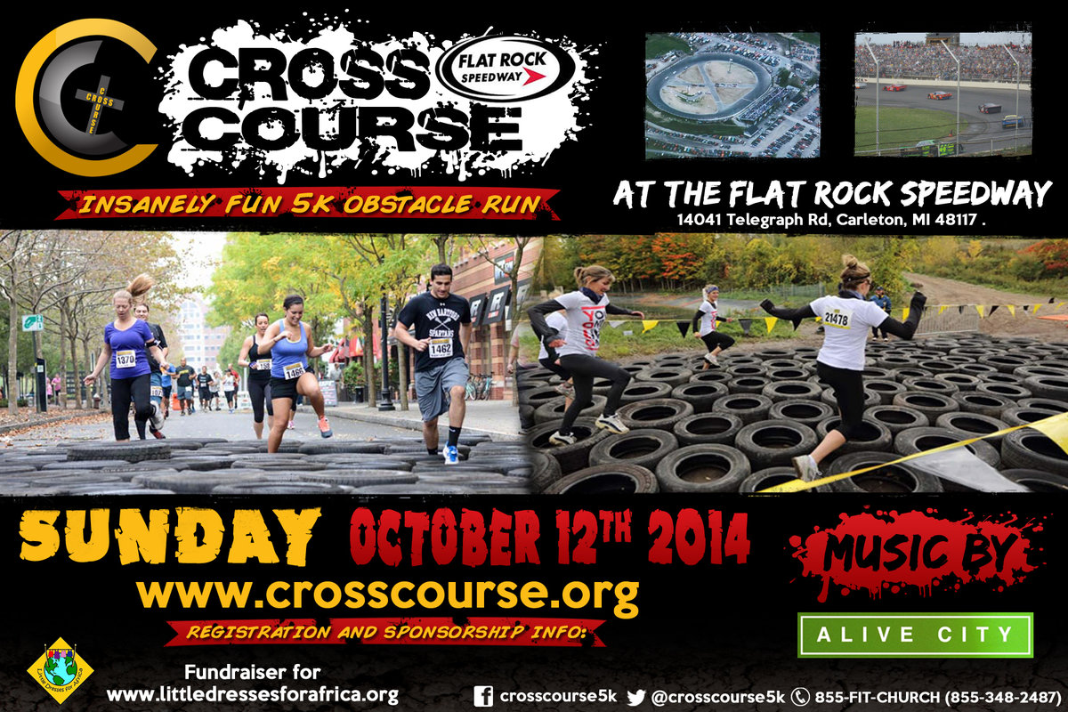 FLAT ROCK SPEEDWAY TO HOST OBSTACLE COURSE 5K RUN/WALK