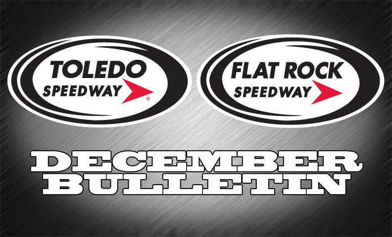 FLAT ROCK-TOLEDO SPEEDWAY BULLETIN  (12-19-14)