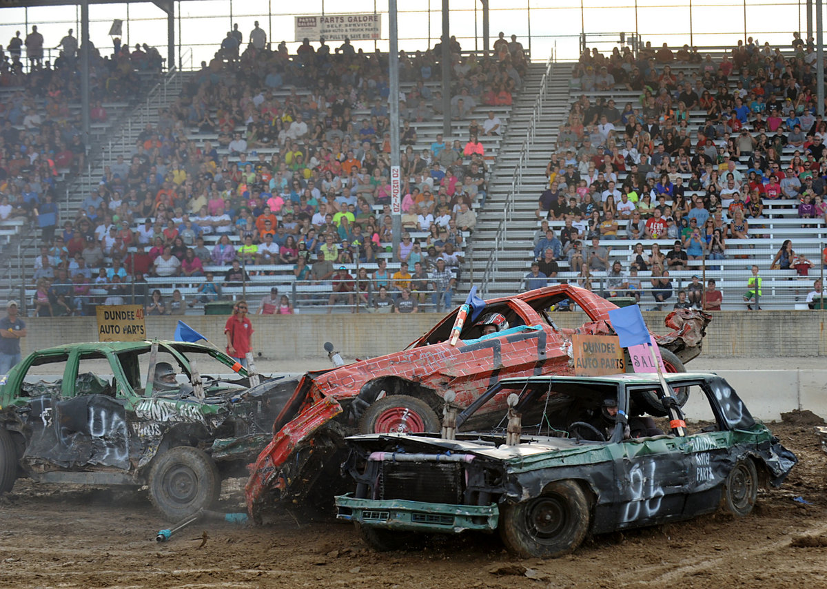 MONROE COUNTY FAIR DEMOLITION DERBY ADJUSTS RULES PACKAGE