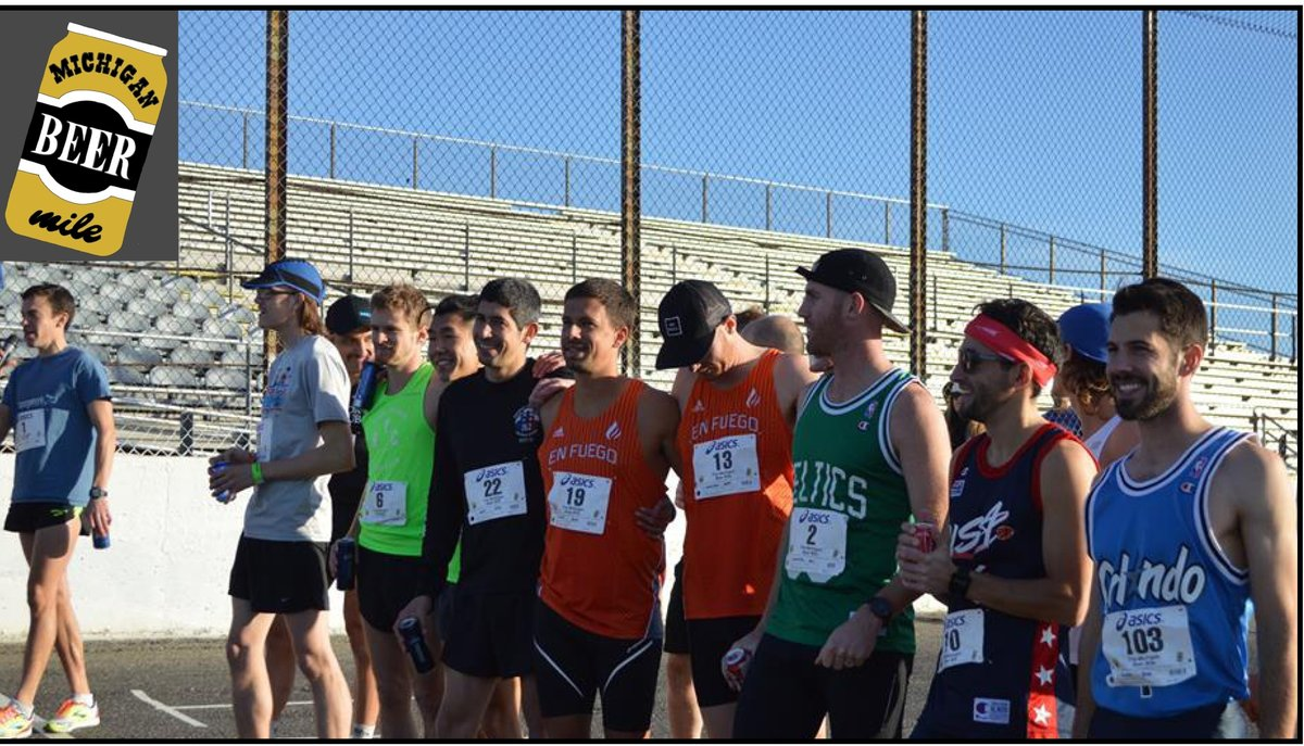 MICHIGAN BEER MILE DRAWS 110 RUNNERS TO FLAT ROCK