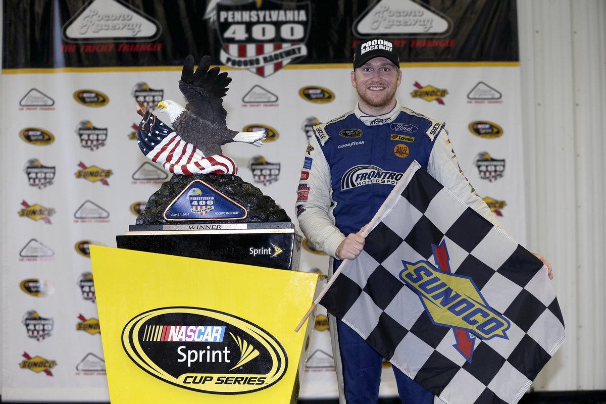NASCAR SPRINT CUP DRIVER CHRIS BUESCHER TO VISIT FLAT ROCK SPEEDWAY SAT. AUG. 27
