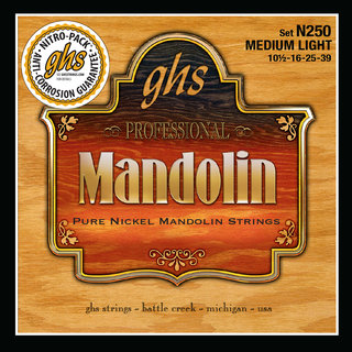 New Pure Nickel Mandolin Strings offer Warm Tone