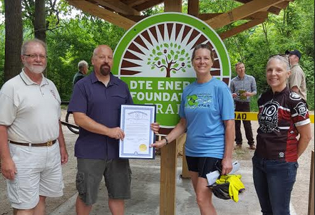 DTE Energy Foundation Trail Opens at the Waterloo Recreation Area