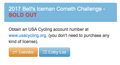 Bell's Beer Iceman Cometh sells OUT but Transfers are Available!
