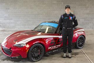 Glenn McGee Wins 2015 Mazda Road to 24 Shootout