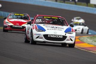 Copeland Motorsports Tops Watkins Glen Mazda MX-5 Cup Results