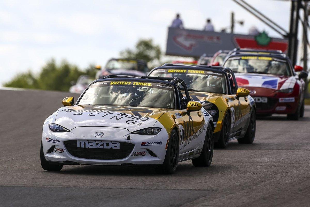 Mazda MX-5 Cup: Nikko Reger and Mark Drennan Win In Canada