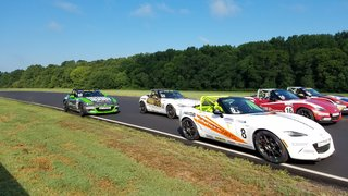 Epic Mazda MX-5 Cup VIR Finish: First to Fifth in 0.15 Seconds
