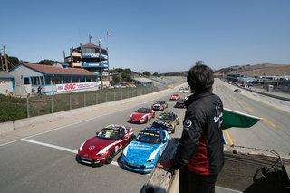 Historic Green Flag Drops for Inaugural Mazda MX-5 Cup Global Invitational