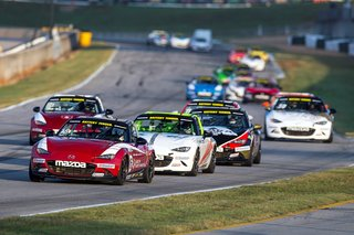 Sick Sideways Team Dominates Road Atlanta Race 1 in Battery Tender Global Mazda MX-5 Cup Presented by BFGoodrich Tires Championship