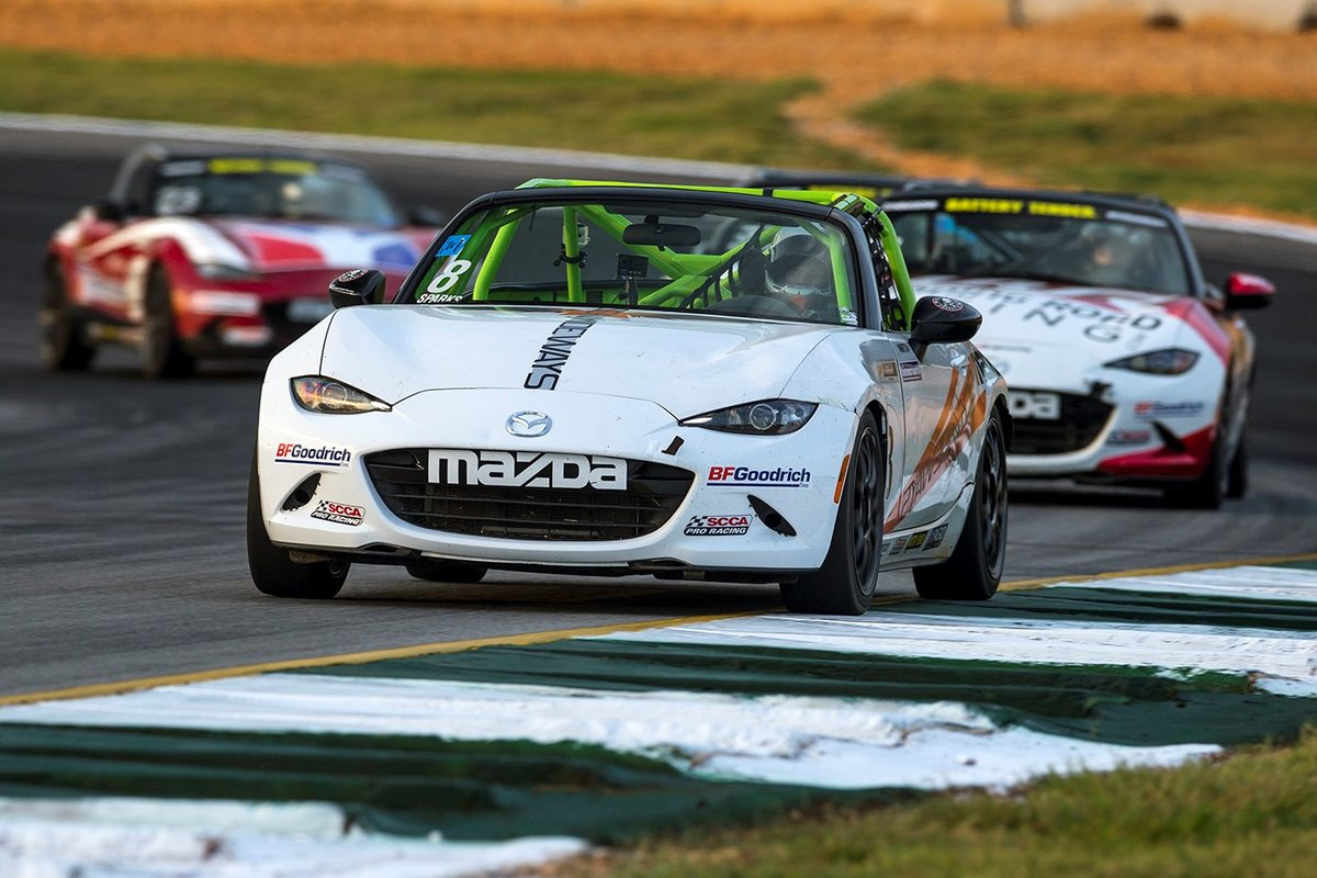 Nathanial Sparks Wins 2016 Battery Tender Global Mazda MX-5 Cup Presented by BFGoodrich Tires and $200,000 MRT24 Scholarship