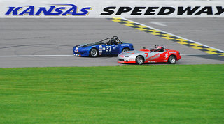SCCA Mid-States Celebrates Father's Day at Driver Acclaimed Kansas Speedway