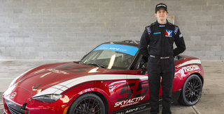 Glenn McGee Wins 2015 Mazda Road to 24 Shootout