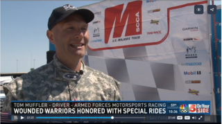 VIDEO: Wounded Warriors Treated At Gateway Majors