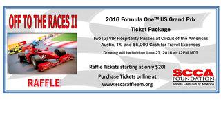 Win a Trip to the US Grand Prix