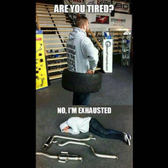 Tired Or Exhausted