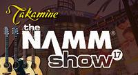 Takamine at the 2017 NAMM Show