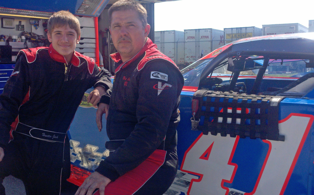 Like fathers, like sons; Glass City 200 at Toledo a family affair