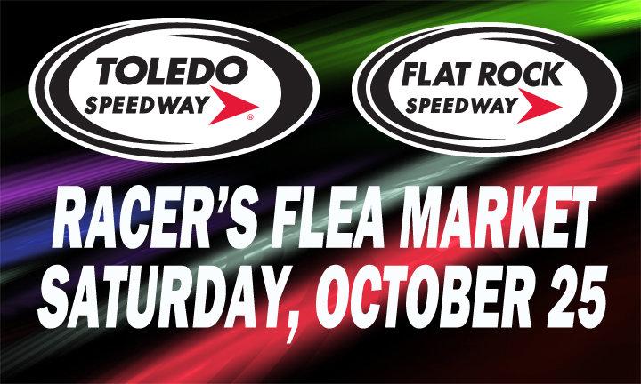 RACER'S FLEA MARKET-SWAP MEET OCT. 25 AT FLAT ROCK