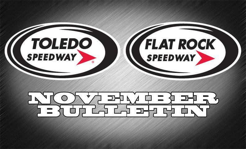 FLAT ROCK-TOLEDO SPEEDWAY BULLETIN  (11-25-14)