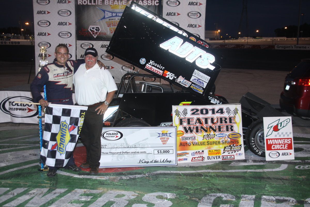TOLEDO WINNER HELBERG CLAIMS KING OF THE WING TITLE