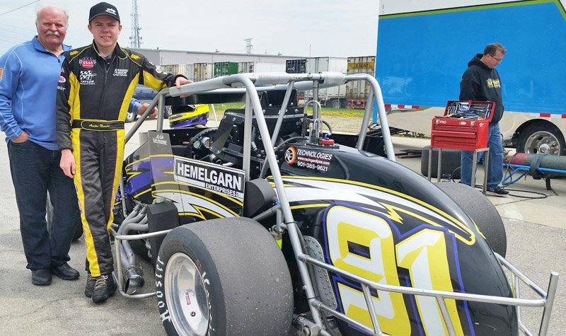Hometowner Nemire tests at Toledo for Indy 500 winner Hemelgarn, Rollie Beale Classic coming