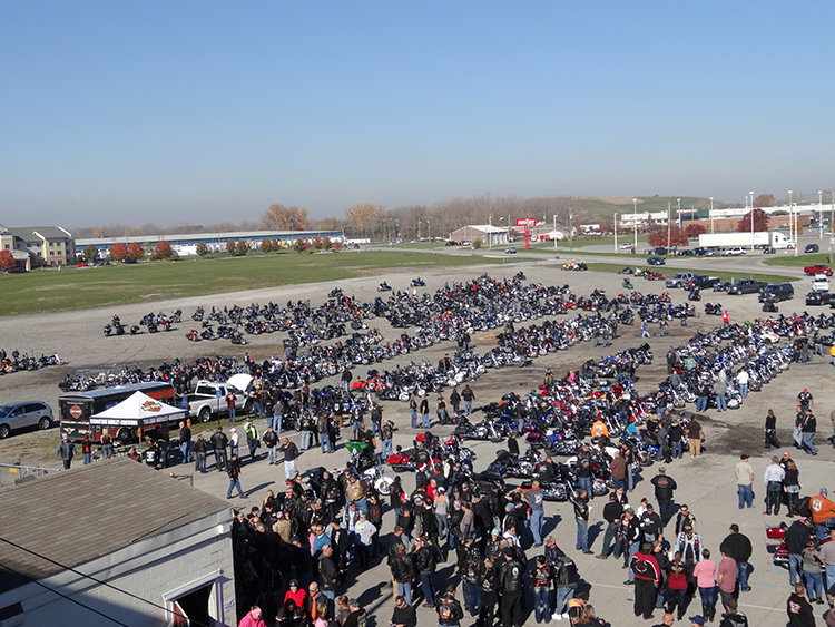 Near-Record Breaking Toy Run Benefiting Harbor Held at Toledo Speedway