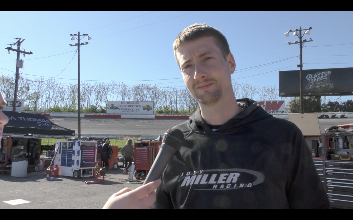 Video: Miller Excited to Return to Toledo Speedway