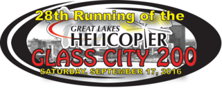 28th Running of the Glass City 200: 200 lap Outlaw Late Model Invitational, 6 p.m. start. Rain date Sun. Sept 18 at 1 p.m. *Reserved seating available.