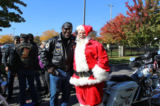 Mike Bell And Santa